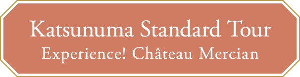 Katsunuma Standard Tour Experience! Château Mercian